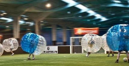 bubble bump football