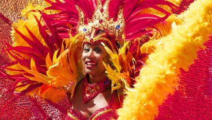 Le carnaval de Rio au Brésil